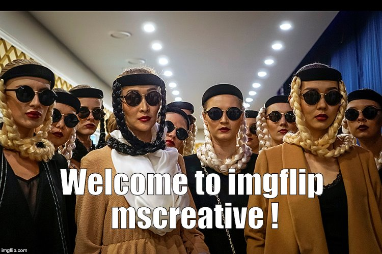 Yes, we're different | Welcome to imgflip mscreative ! | image tagged in yes,we're different | made w/ Imgflip meme maker