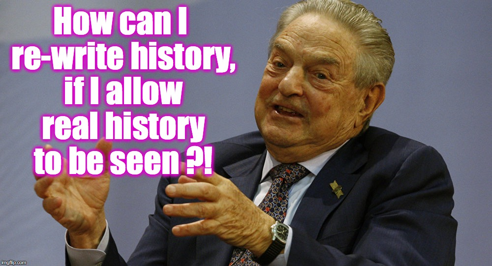 How can I re-write history, if I allow real history to be seen ?! | made w/ Imgflip meme maker