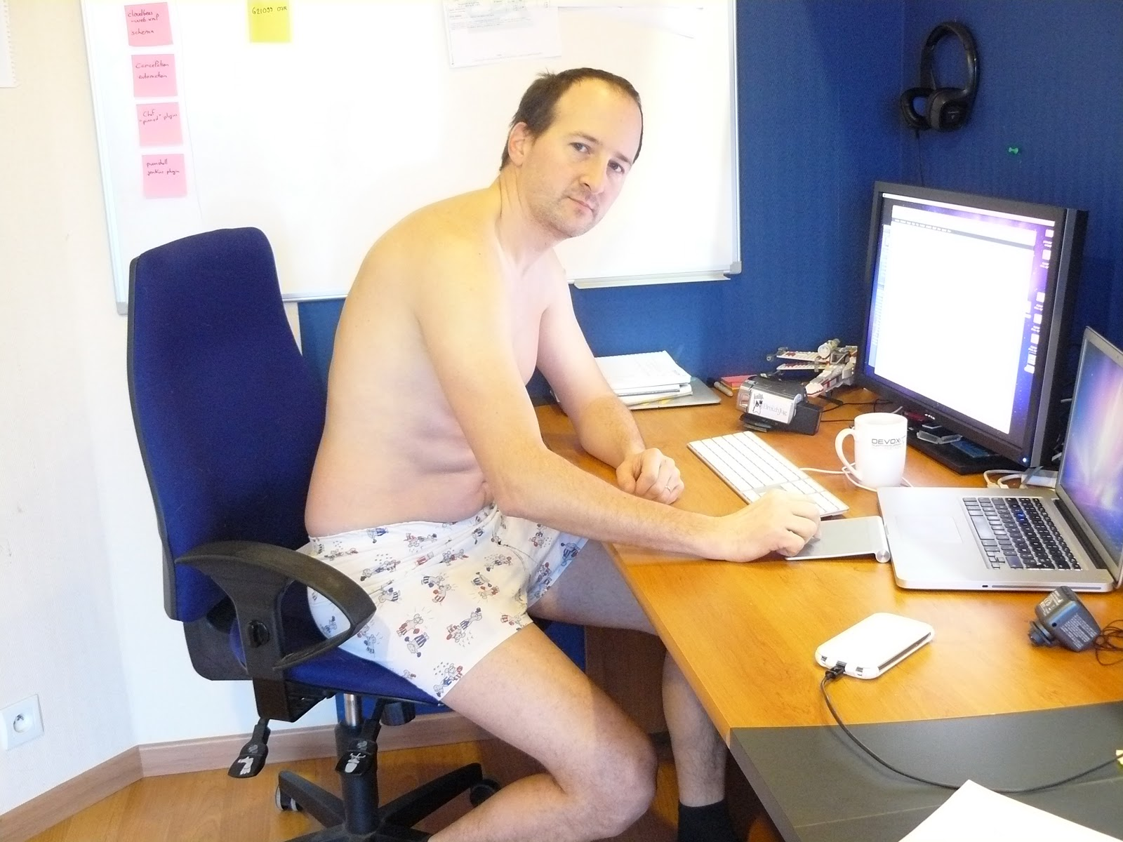 work-from-home-nopants Blank Template - Imgflip