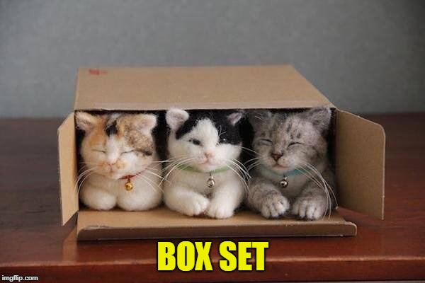 Collect Them All |  BOX SET | image tagged in adorable,cute kittens,cute meme | made w/ Imgflip meme maker
