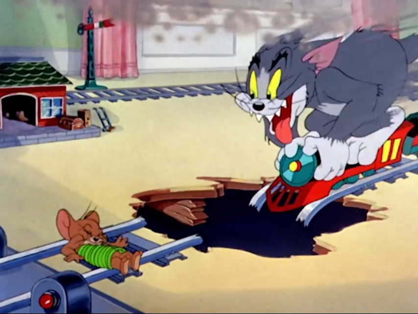 Tom And Jerry Train Blank Template Imgflip