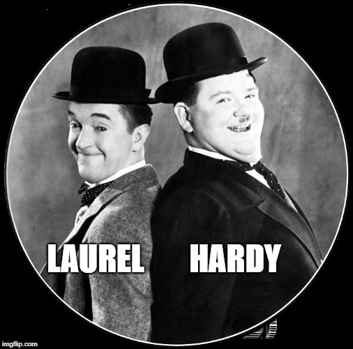 LAUREL HARDY | image tagged in laurel,yanny | made w/ Imgflip meme maker