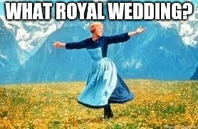 Look At All These | WHAT ROYAL WEDDING? | image tagged in memes,look at all these | made w/ Imgflip meme maker