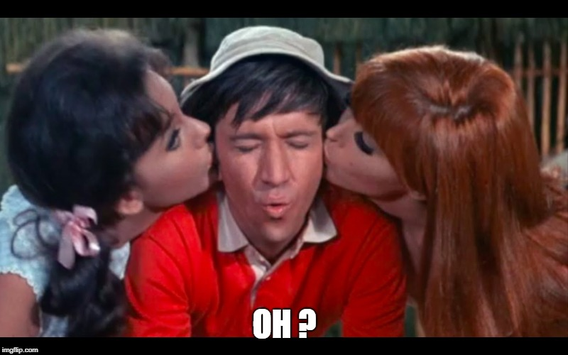 gilligan | OH ? | image tagged in gilligan | made w/ Imgflip meme maker