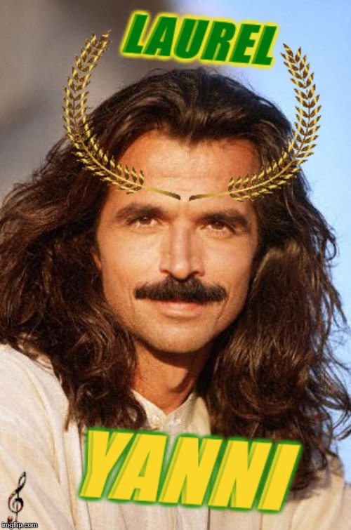 Bad photoshop Sunday, a btbeeston Event!Laurel or Yanni? Why not both?! | image tagged in laurel or yanny,bad photoshop sunday,yanni,imgflip humor,funny,memes | made w/ Imgflip meme maker