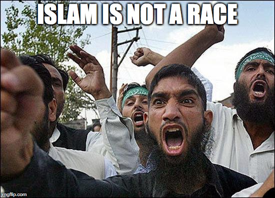 ISLAM IS NOT A RACE | made w/ Imgflip meme maker
