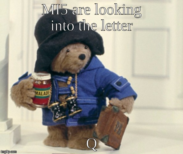 #Qanon | MI5 are looking into the letter Q | image tagged in trains | made w/ Imgflip meme maker