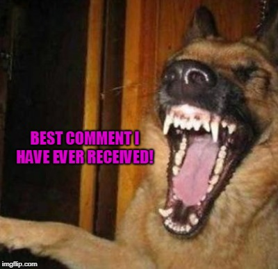 BEST COMMENT I HAVE EVER RECEIVED! | made w/ Imgflip meme maker
