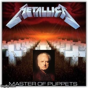 Puppet Master Palpatine | image tagged in palpatine,puppet,master,metallica,star wars,master of puppets | made w/ Imgflip meme maker