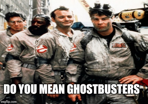DO YOU MEAN GHOSTBUSTERS | made w/ Imgflip meme maker