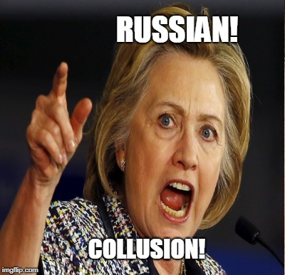 RUSSIAN! COLLUSION! | made w/ Imgflip meme maker