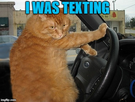 I WAS TEXTING | made w/ Imgflip meme maker