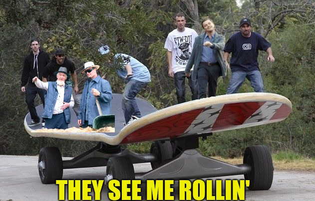 THEY SEE ME ROLLIN' | made w/ Imgflip meme maker