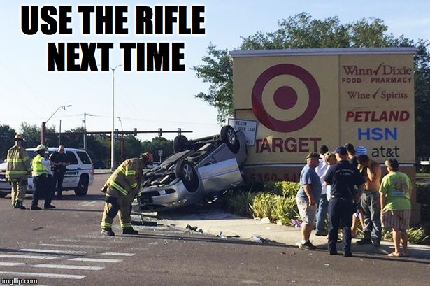 USE THE RIFLE NEXT TIME | made w/ Imgflip meme maker