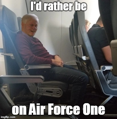 My book tour | I'd rather be on Air Force One | image tagged in clinton | made w/ Imgflip meme maker