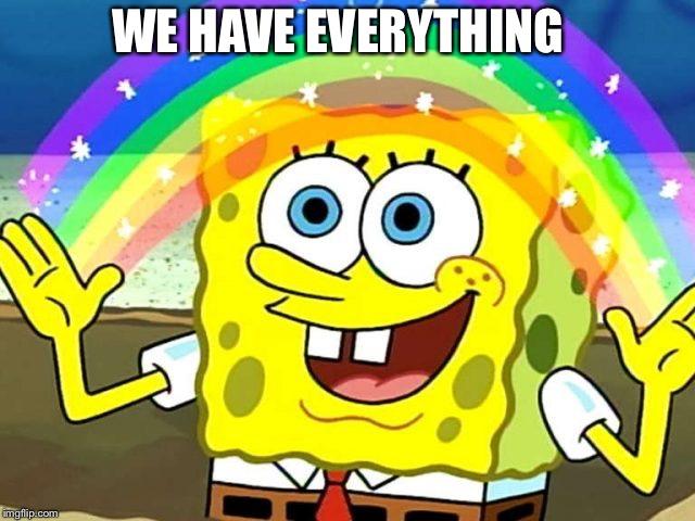 Image tagged in spongebob rainbow - Imgflip