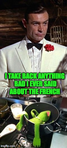 I TAKE BACK ANYTHING BAD I EVER SAID ABOUT THE FRENCH | made w/ Imgflip meme maker