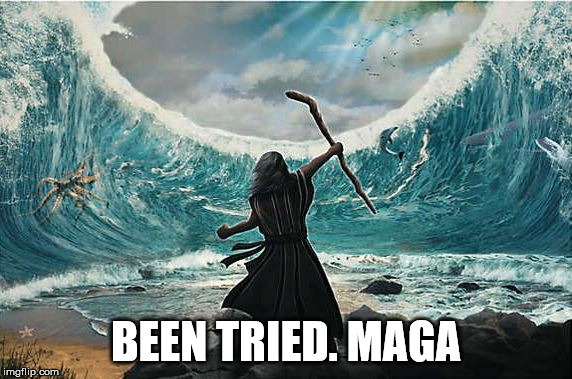 BEEN TRIED. MAGA | made w/ Imgflip meme maker
