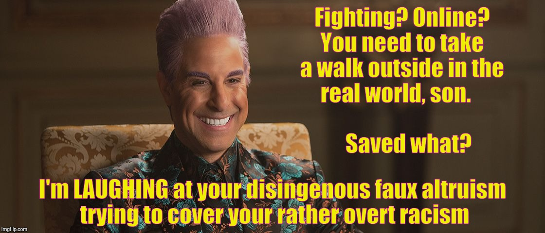 "Hunger Games - Caesar Flickerman (Stanley Tucci) ""This is great! 