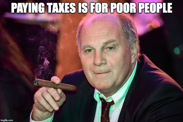 PAYING TAXES IS FOR POOR PEOPLE | made w/ Imgflip meme maker