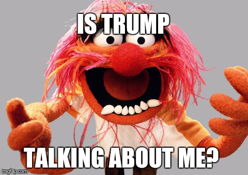 IS TRUMP TALKING ABOUT ME? | made w/ Imgflip meme maker