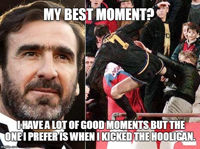 Best Moment | MY BEST MOMENT? I HAVE A LOT OF GOOD MOMENTS BUT THE ONE I PREFER IS WHEN I KICKED THE HOOLIGAN. | image tagged in soccer,kung fu,kicking,roundhouse kick chuck norris | made w/ Imgflip meme maker