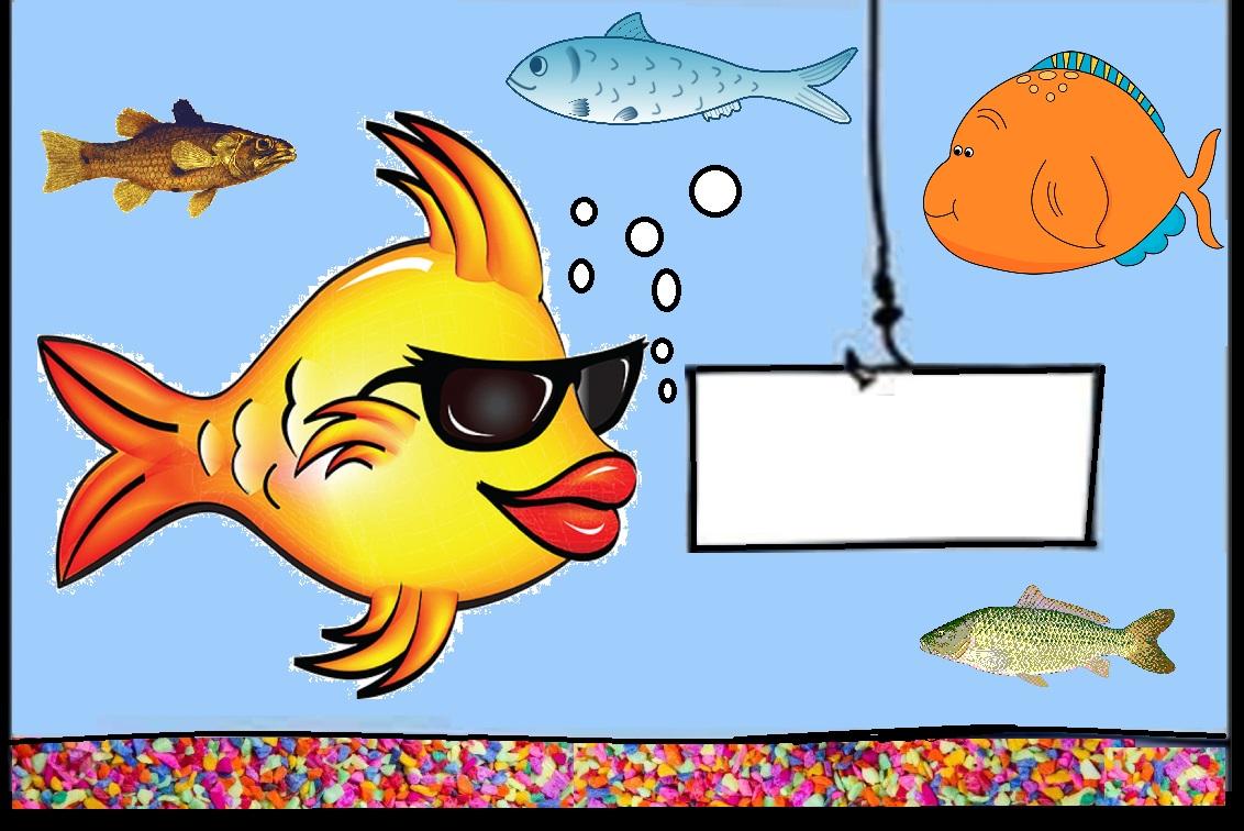 Aquarium Of Cartoon Fish Blank Template Imgflip