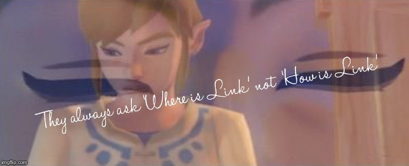 Sadd | image tagged in zelda,the legend of zelda,legend of zelda | made w/ Imgflip meme maker