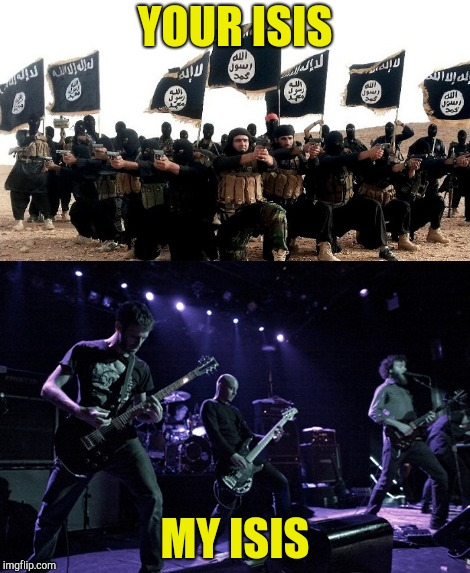 "It saddens me that the terrorist group comes up above the music group when you search ""Isis"" on Google 