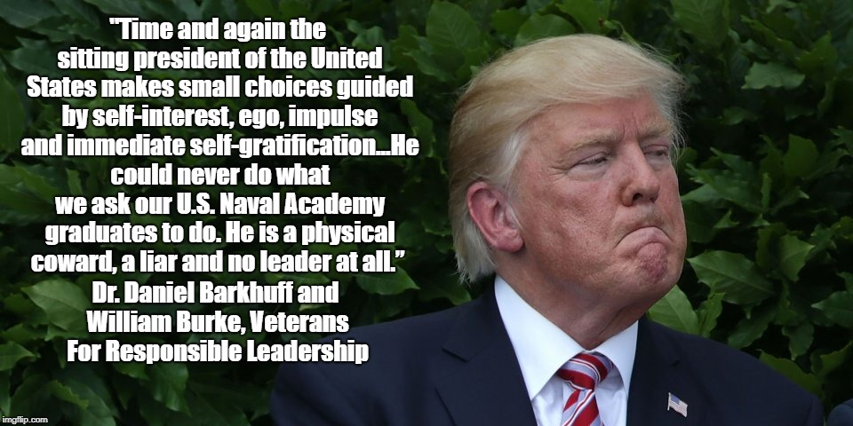 """Veterans For Responsible Leadership"" Evaluate Donald Trump 
