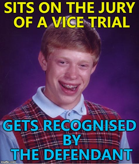 """I know that face..."" :) 