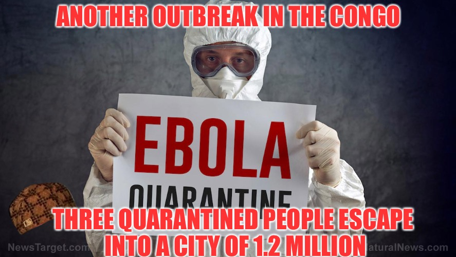 Ebola Again  | ANOTHER OUTBREAK IN THE CONGO THREE QUARANTINED PEOPLE ESCAPE INTO A CITY OF 1.2 MILLION | image tagged in ebola,scumbag,disease,africa,shithole,shit | made w/ Imgflip meme maker