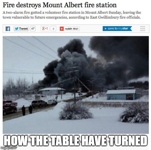 HOW THE TABLE HAVE TURNED | image tagged in memes,funny,ssby,fire | made w/ Imgflip meme maker