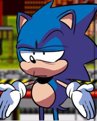 Sonic Bruh Meme Generator - Imgflip