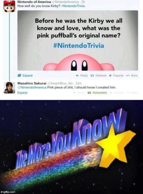 can't believe my eyes lmao | image tagged in memes,nintendo,kirby | made w/ Imgflip meme maker