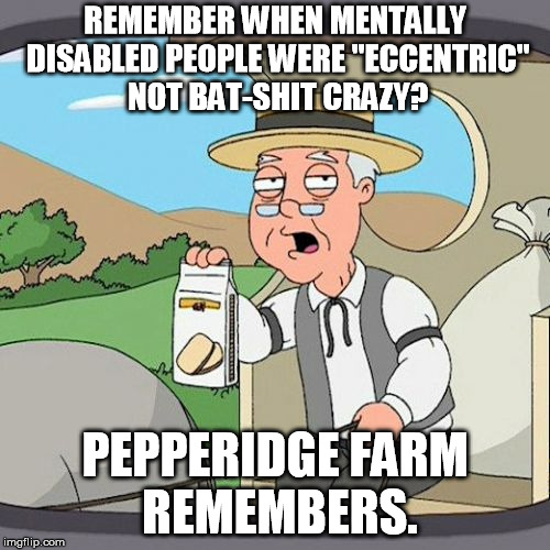 "What's really fucked is that they use that to bully and beat disabled people, who's really the ""crazy"" one here? 