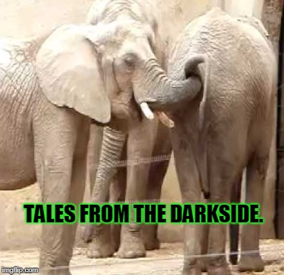 TALES FROM THE DARKSIDE. | made w/ Imgflip meme maker