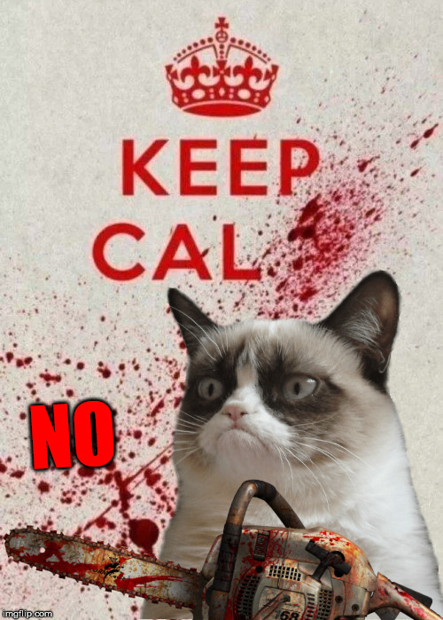 Mood | NO | image tagged in grumpy cat,keep calm,no,meme | made w/ Imgflip meme maker
