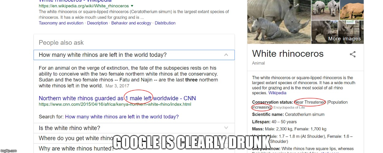 GOOGLE IS CLEARLY DRUNK | image tagged in logic | made w/ Imgflip meme maker