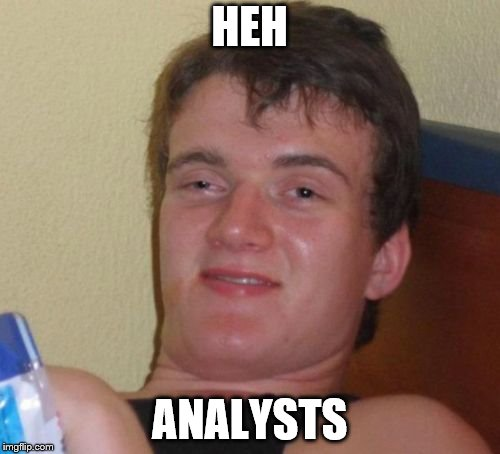 HEH ANALYSTS | made w/ Imgflip meme maker