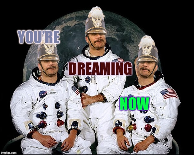 You are really asleep. Look away and look back.  S E E ! ! | YOU'RE DREAMING NOW | image tagged in triplet nauts,mtr602,memeys,rem sleep,lucid dreaming,dream a dreams | made w/ Imgflip meme maker
