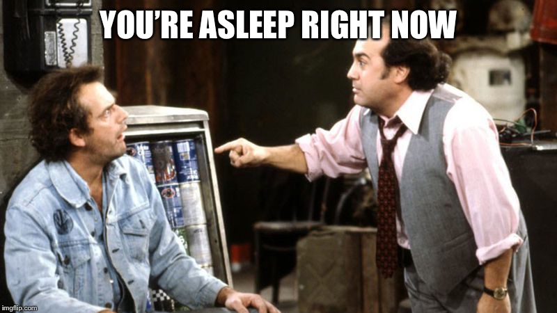 louieith n iggith | YOU'RE ASLEEP RIGHT NOW | image tagged in louieith n iggith | made w/ Imgflip meme maker