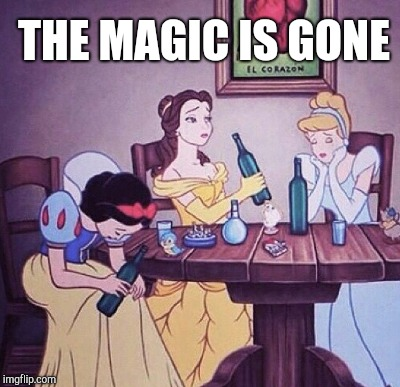 THE MAGIC IS GONE | made w/ Imgflip meme maker