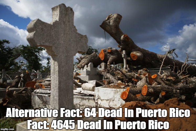 """Hurricane Maria's Puerto Rican Death Toll: The Facts... And The Alternative Facts"" 