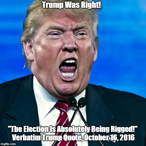 """Trump Was Right!"" 
