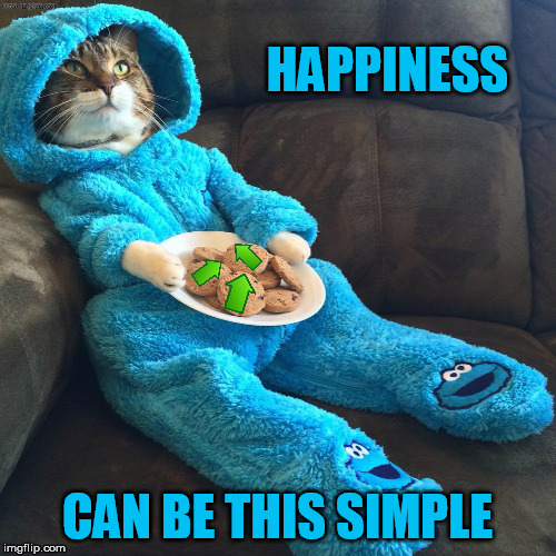 HAPPINESS CAN BE THIS SIMPLE | made w/ Imgflip meme maker