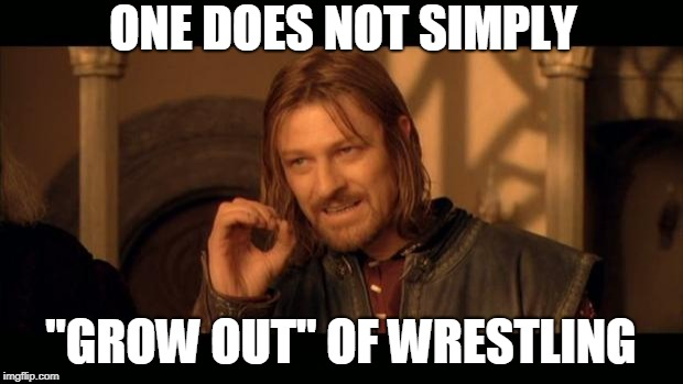 "Sean Bean Lord Of The Rings | ONE DOES NOT SIMPLY ""GROW OUT"" OF WRESTLING 