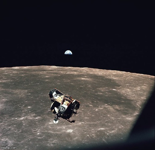 Michael Collins' Supposed Apollo 11 Photo | image tagged in apollo 11,apollo missions,hoax,fraud,photo,fake moon landing | made w/ Imgflip meme maker