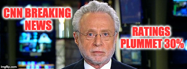 CNN:  The Least Trusted Name In news | CNN BREAKING NEWS RATINGS PLUMMET 30% | image tagged in cnn fake news,democrats,liberals,cnn breaking news | made w/ Imgflip meme maker