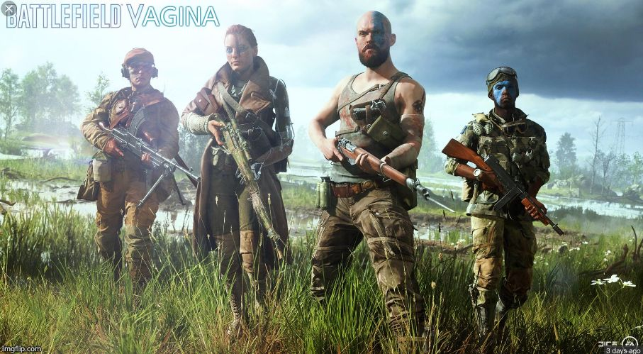 What the 'V' in Battlefield V really stands for | AGINA | image tagged in battlefield 5,memes,funny,funny memes | made w/ Imgflip meme maker